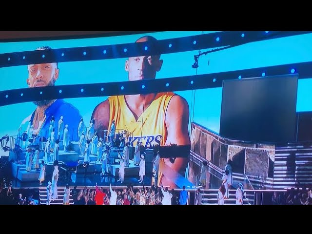 Nipsey Hussle / Kobe Bryant Tribute - Grammys 2020