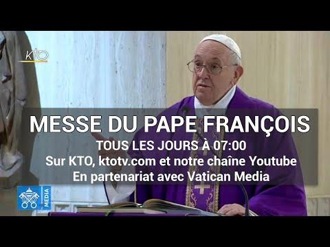 Messe du pape François du 25 mars 2020
