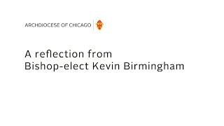 Bishop-elect Kevin Birmingham