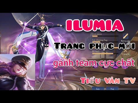Vác Ilumia trang phục mới vào rank và cái kết - Tiểu Vân TV
