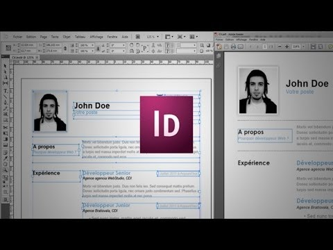 Tutoriel Indesign : Débuter avec InDesign