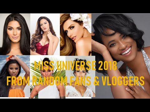 Miss Universe 2018 || Netizens, Pageant Fanatics & Vloggers OPINION || Philippines To Win