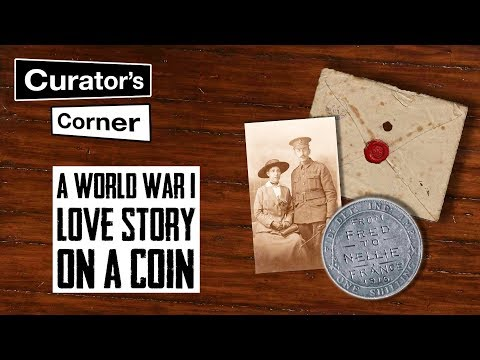 A World War 1 love story on a coin | Curator