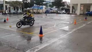 Motogymkhana Contest in Vũng Tàu