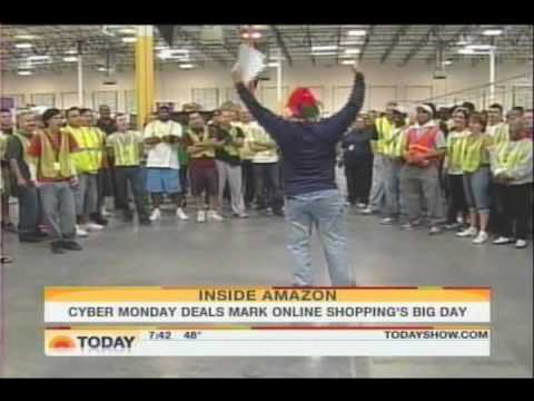 Today Show - Amazon.com Cyber Monday (2009)