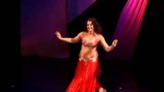 Tamar Bar Gil belly dance -Drum solo -