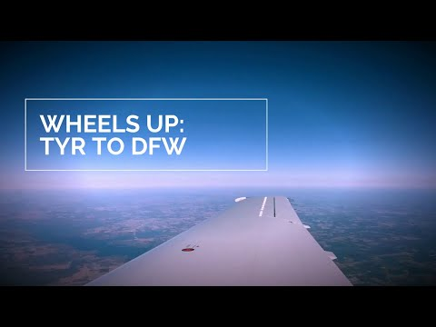 Wheels up: Tyler to Dallas, Texas