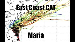 NEW - Hurricane Maria - Models leaning LEFT - East Coast Advisory