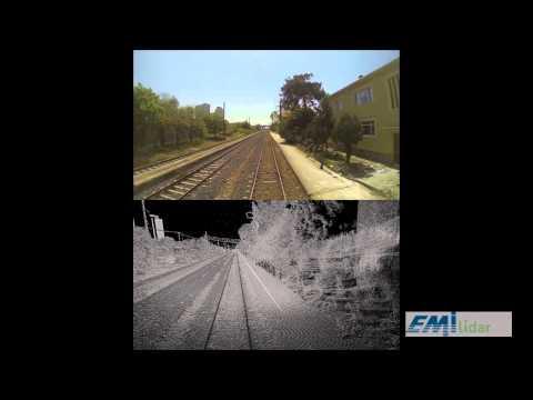Emi Grup Mobile Lidar Railway Scanning