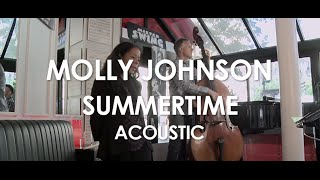 Molly Johnson - Summertime - Acoustic [ Live in Paris ]