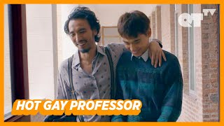 Hot Gay Professor Taught Me Something That My GF Couldn't... | Gay Romance | 'Utopians'