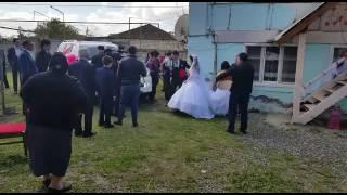 Забираем невесту из дома!