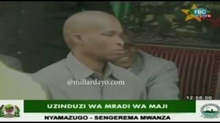 Mwanamke amwaga machozi mbele ya Rais JPM, Mwanza...kisa???