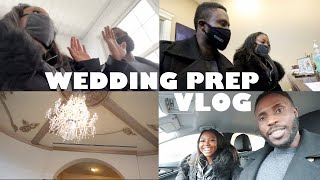 WEDDING PREP VLOG: Touring our WEDDING VENUE again + Getting our Marriage License  Bren &amp Mir