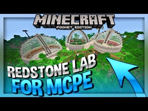 DanTDM MCPE REDSTONE LAB - Minecraft PE 1.0 Map + Download ( Minecraft on assassin's creed skin minecraft pe, cool things to build in minecraft pe, maps on minecraft kindle app, minecraftforums maps pe, maps for minecraft pc, history minecraft pe,