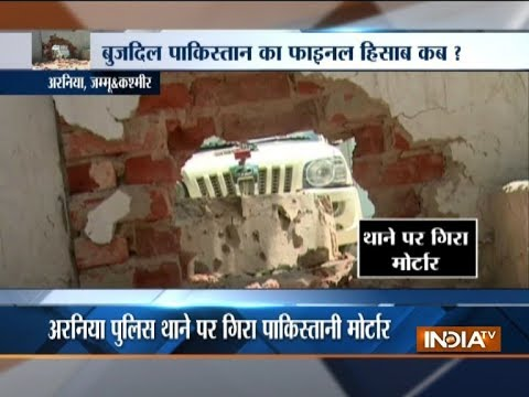 Pakistan firing targets police station, civilian colonies in Arnia sector; 4 injured