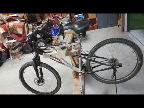 Custom bike repair stand