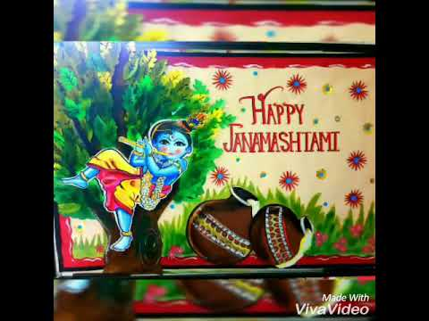 Janmashtami board and chart decoration ideas also youtube rh