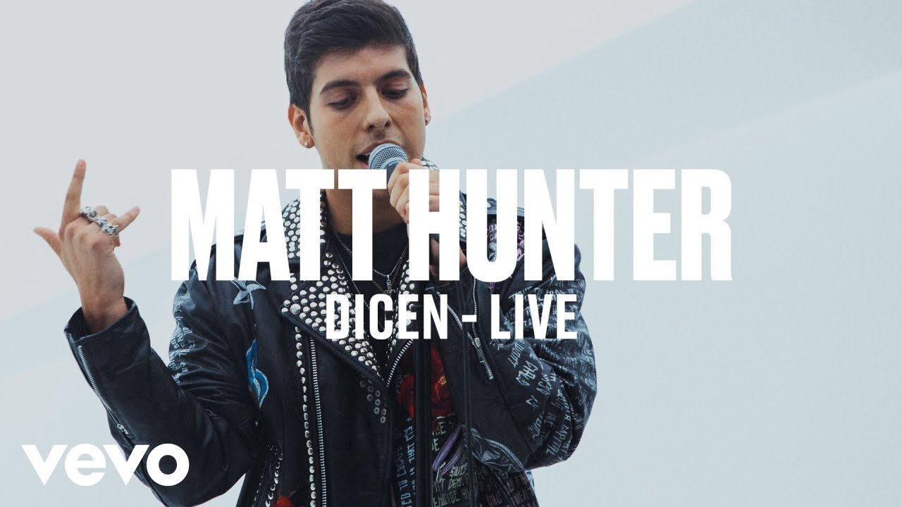 Matt Hunter — Dicen (Live) | Vevo DSCVR ARTISTS TO WATCH 2019