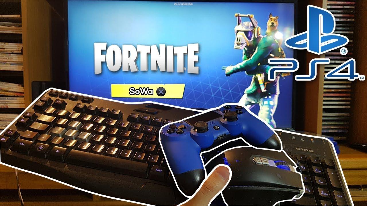 jugando fortnite con mouse y teclado en ps4 - como jugar fortnite en xbox one con teclado y mouse