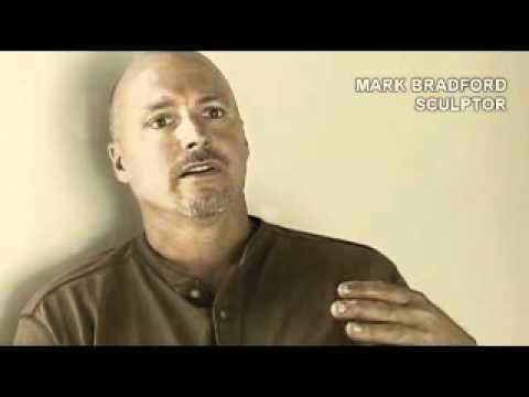 MARK BRADFORD - HOUSTON, TEXAS.   ( Video Ernesto Leon )