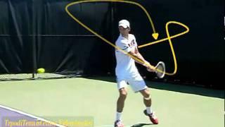 Novak Djokovic The best (two handed) backhand in tennis ....avi