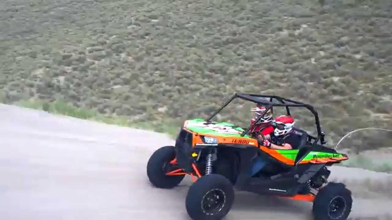 BoonDocker RZR 1000 Turbo 2 seater jump