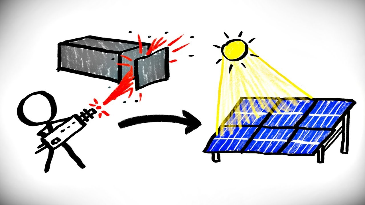 Solar Panels Made With A Particle Accelerator Youtube