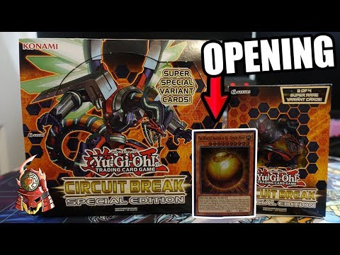 Yu-Gi-Oh! Circuit Break Special Edition Box Opening! Sphere Mode Reprint! [TCG 2017]