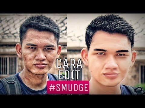 Editing Dasar Smudge Effect Pemula Dengan Autodesk Skecthbook Pro