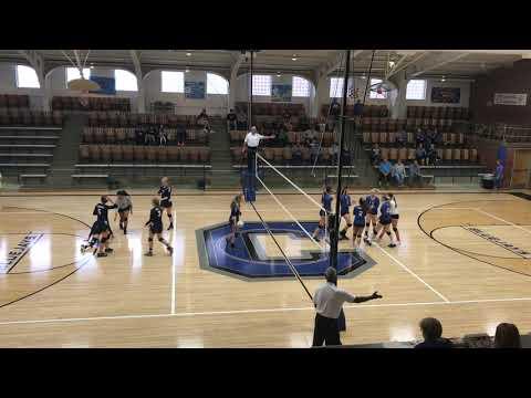 Ark City Christian Academy vs Caldwell set 1