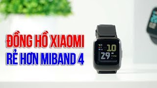 Mở hộp Xiaomi Haylou LS01 đồng hồ thông minh RẺ HƠN Mi Band 4