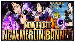 Gambar cover NEW AMAZING WAIFU MERLIN UPDATE! OMG SHE'S SOO GOOD!! | Seven Deadly Sins Grand Cross