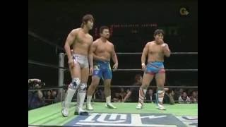 Pro Wrestling NOAH six man tag team match - 2008.10.25 佐々木健介&...