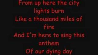 Anthem Of Our Dying Day W/Lyrics