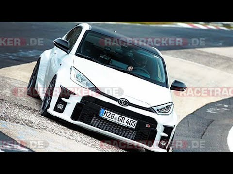 Stock Toyota Yaris GR on Nordschleife Nürburgring BtG 7:56 min tyres Michelin p4s, cold 6° plus