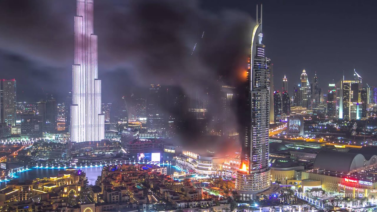 Huge fire at the address downtown dubai luxury hotel for List of hotels in dubai with contact details