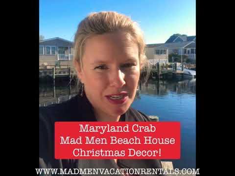 Maryland Crab 🦀 Trap Decor DIY For Holidays/Christmas🎄 EASY! By: WWW.MADMENVACATIONRENTALS.COM