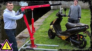 Magnet Fishing UK - Serious Motorcycle Recovery