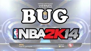 Bug NBA2K14 | Comentarios en español