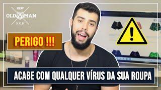 Como Tirar Qualquer Vírus e Bactéria da Sua Roupa! | New Old Man