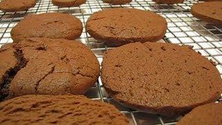 Betty's Chocolate Ice Box Cookies