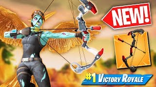 Can I win using ONLY the BOOM BOW?  -  Fortnite Battle Royale Challenge