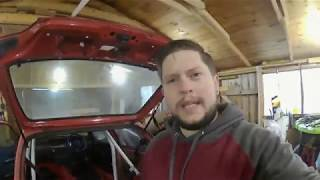 Installing the Rollcage in my MK1 CLIO 1 8 16V PT1