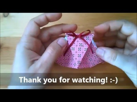 Origami Gift Packet Youtube