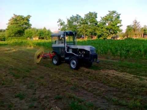 Kistraktor fűkasz&#22...