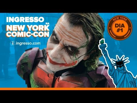 Playlist New York Comic-Con 2018 | Ingresso.com