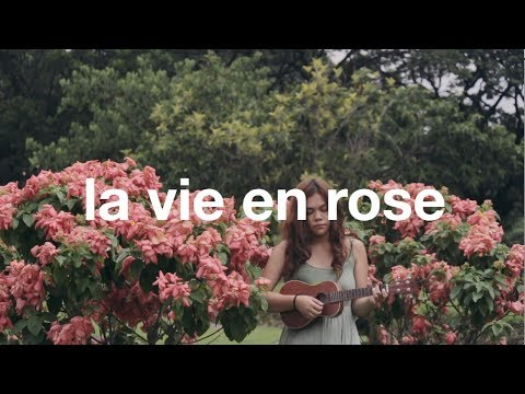 La Vie En Rose (ukulele cover) | Reneé Dominique