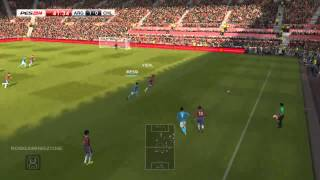 ARGENTINA vs CHILE - PES2014 PC GAMEPLAY