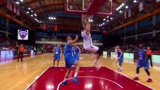 Ante zizic highlights vs igokea (17 points, 7 rebounds, 2 blocks)